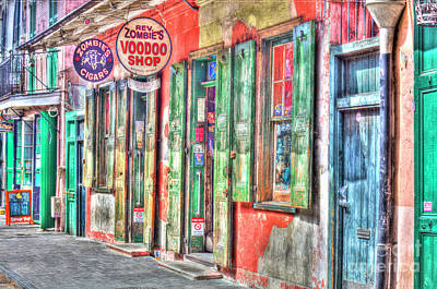 Voodoo Shop Wall Art - Photograph - Voodoo Shop, French Quarter, New Orleans by Felix Lai