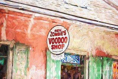 Voodoo Shop Photograph - Voodoo Shop by Scott Pellegrin