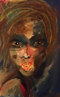 Voodo Painting - Voodoo Woman by Brenda Sauve