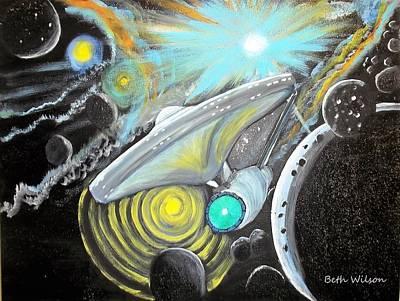 Vortex Art Print by Beth Wilson