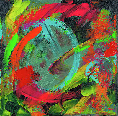 Painting - Vortex Of Color by Jason Stephen