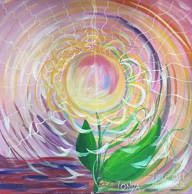 Painting - Vortex Of Intention by Tonya Henderson