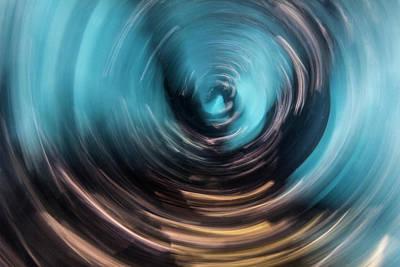Claude Monet - Vortex One by Rico Besserdich