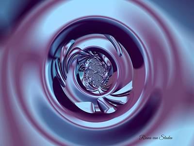 Digital Art - Vortex  by Riana Van Staden