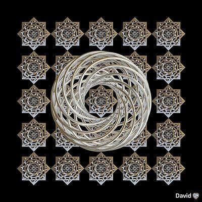 Digital Art - Vortex Stargate by David Diamondheart