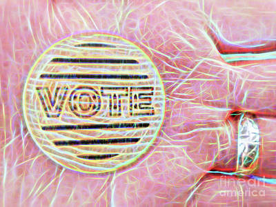 Photograph - Vote by Todd Breitling