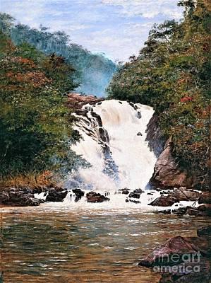 Lovely Lavender - Votorantim waterfall  by Roberto Prusso