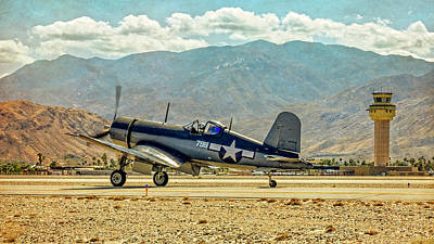 Photograph - Vought F4u-5 Corsair by Sandra Selle Rodriguez