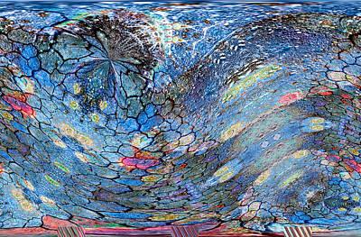 Digital Art - Voyage II Series No. 2 by Dolores Kaufman