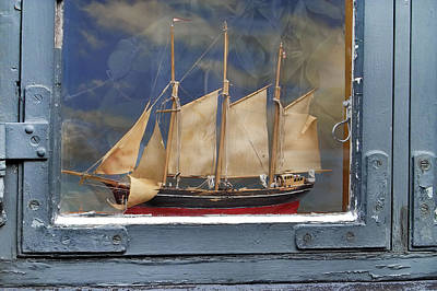 Scandanavia Photograph - Voyage In A Window by Robert Lacy