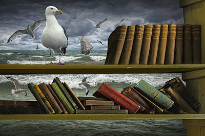 Novel Photograph - Voyage Into The World Of Books by Randall Nyhof