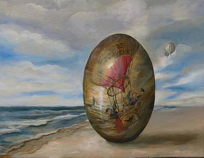 Painting - Voyage Of Yesteryear by Grace Diehl
