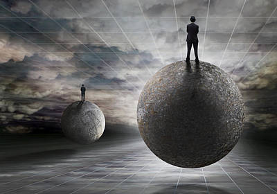 Surreal Photograph - Voyage To The Light by Ben Goossens