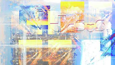 Digital Art - Voyager by Payet Emmanuel