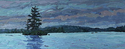 Tom Thomson Painting - Voyageur Highway by Phil Chadwick