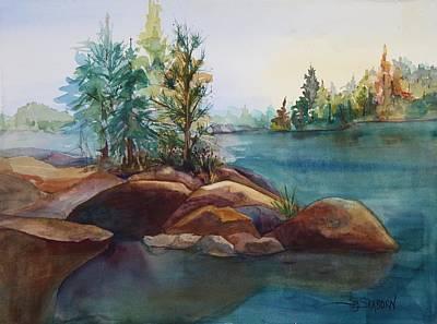 Voyageurs Painting - Voyageur's by Susan Seaborn