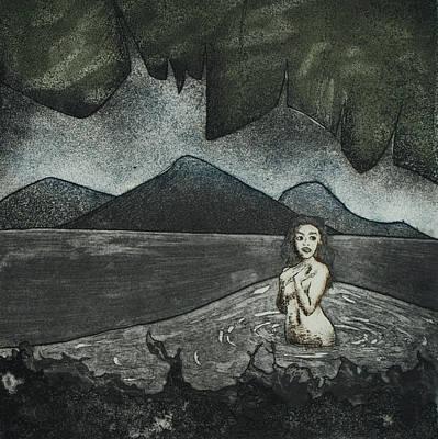 Drawing - Voyer  by Erik Paul