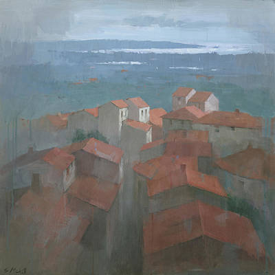 Painting - Vrsar, Croatia by Steve Mitchell