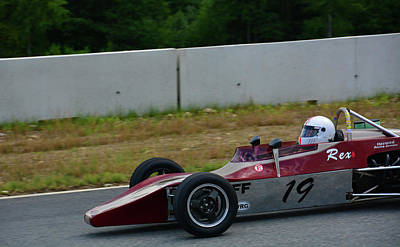 Photograph - Vscca 19 Rex by Mike Martin