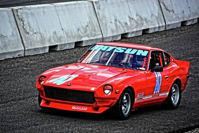 Photograph - Vscca Datsun 240z by Mike Martin