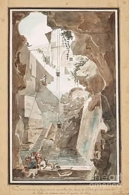 Antique Painting - Vue Dune Citerne  by MotionAge Designs