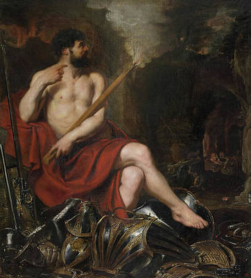 Sir Painting - Vulcan And Fire by Peter Paul Rubens