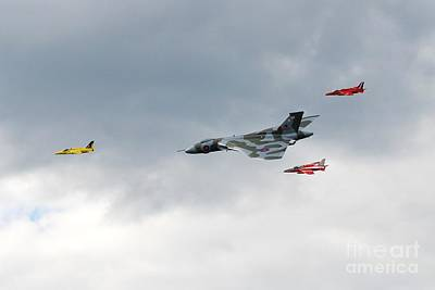 Photograph - Vulcan And Gnats by David Fowler