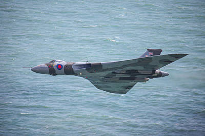 Photograph - Vulcan At Eastbourne 2 by Ken Brannen