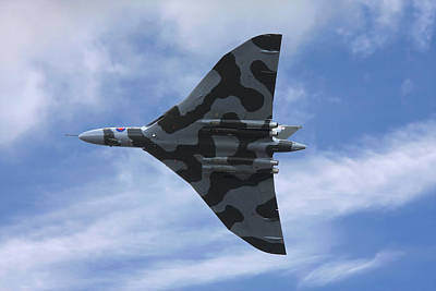 Photograph - Vulcan Bomber by Steve Ball