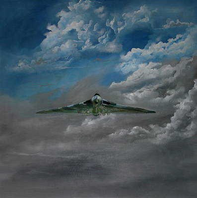 Painting - Vulcan  Bomber by Steve Jones