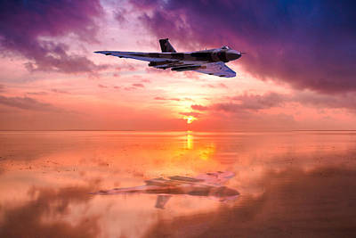 Photograph - Vulcan Dawn Colour by Ken Brannen