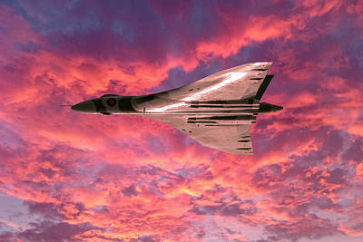 Digital Art - Vulcan Sunset Serenade by Gary Eason