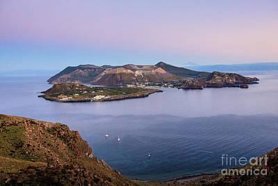 Photograph - Vulcano Island by Arnaldo Tarsetti
