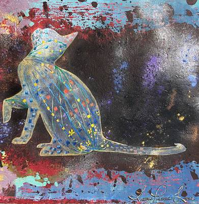 Painting - Vulnerabilidad by Laura Pierre-Louis