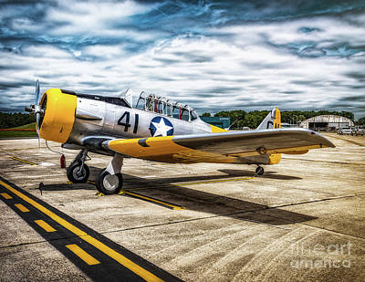Photograph - Vultee Bt-13 Valiant  by Nick Zelinsky