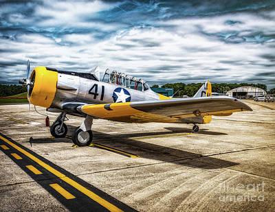 Photograph - Vultee Bt-13 Valiant  by Nick Zelinsky