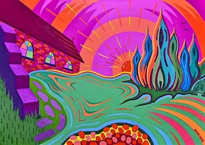 Epiphany Painting - Epiphany by Derek Ian Kemp