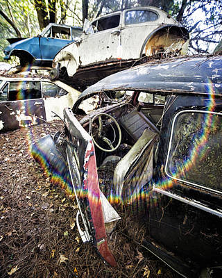 Photograph - Vw And Friends Graveyard by Alan Raasch