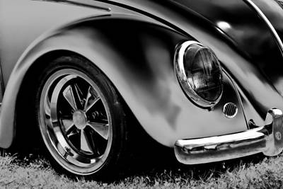 Photograph - Vw Beetle Chrome by Athena Mckinzie
