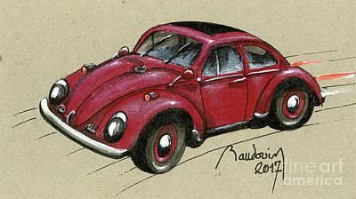 Vw Beetle Sixties Original