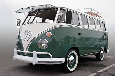 Photograph - Vw Bus  by Bill Dutting