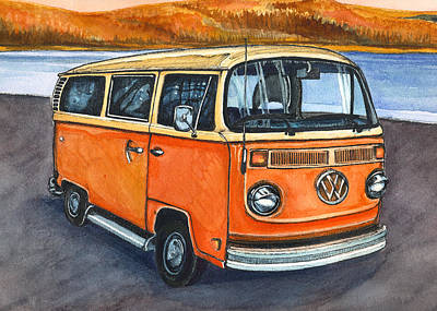 Painting - Ryan's Magic Bus by Katherine Miller