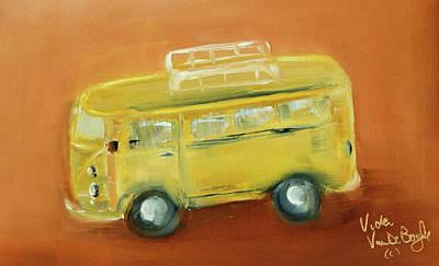 Painting - Vw Bus by Vicki VanDeBerghe