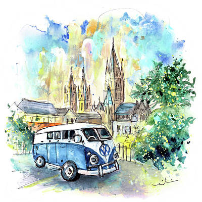 Painting - Vw Camper In Truro by Miki De Goodaboom