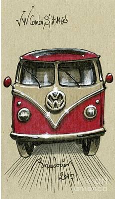 Vw Combi Split Sixties Original