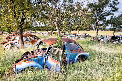 Photograph - Vw Graveyard by Lawrence Burry