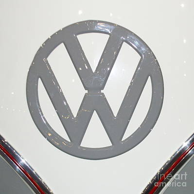 Photograph - Vw In Gray by Pamela Walrath
