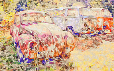 Photograph - Vw Rest Home by Ronda Broatch