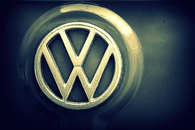 Photograph - Vw Thing Emblem by Joseph Skompski