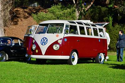 Photograph - Vw Van by Dean Ferreira
